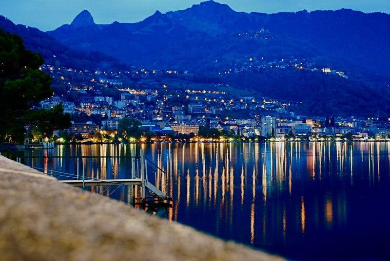 Montreux, noaptea