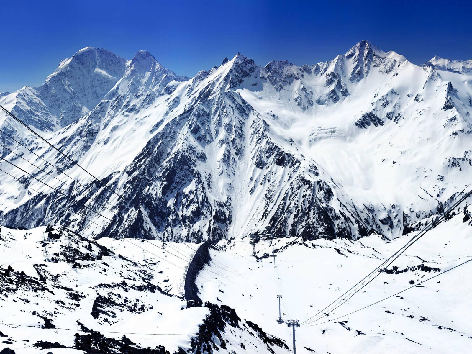 Muntele Elbrus, Rusia