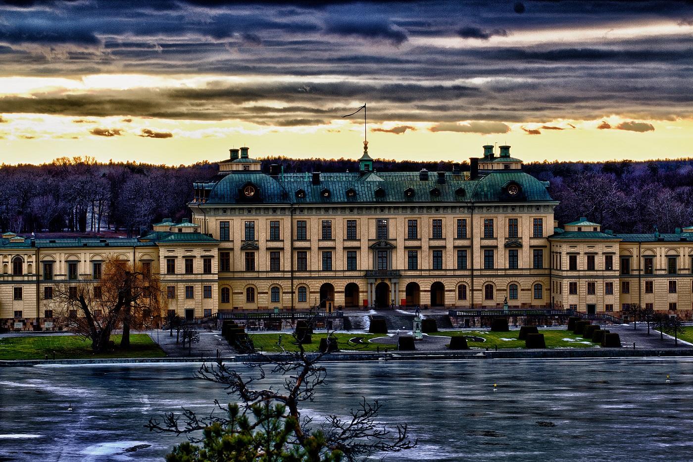 Palatul Drottningholm,. Suedia