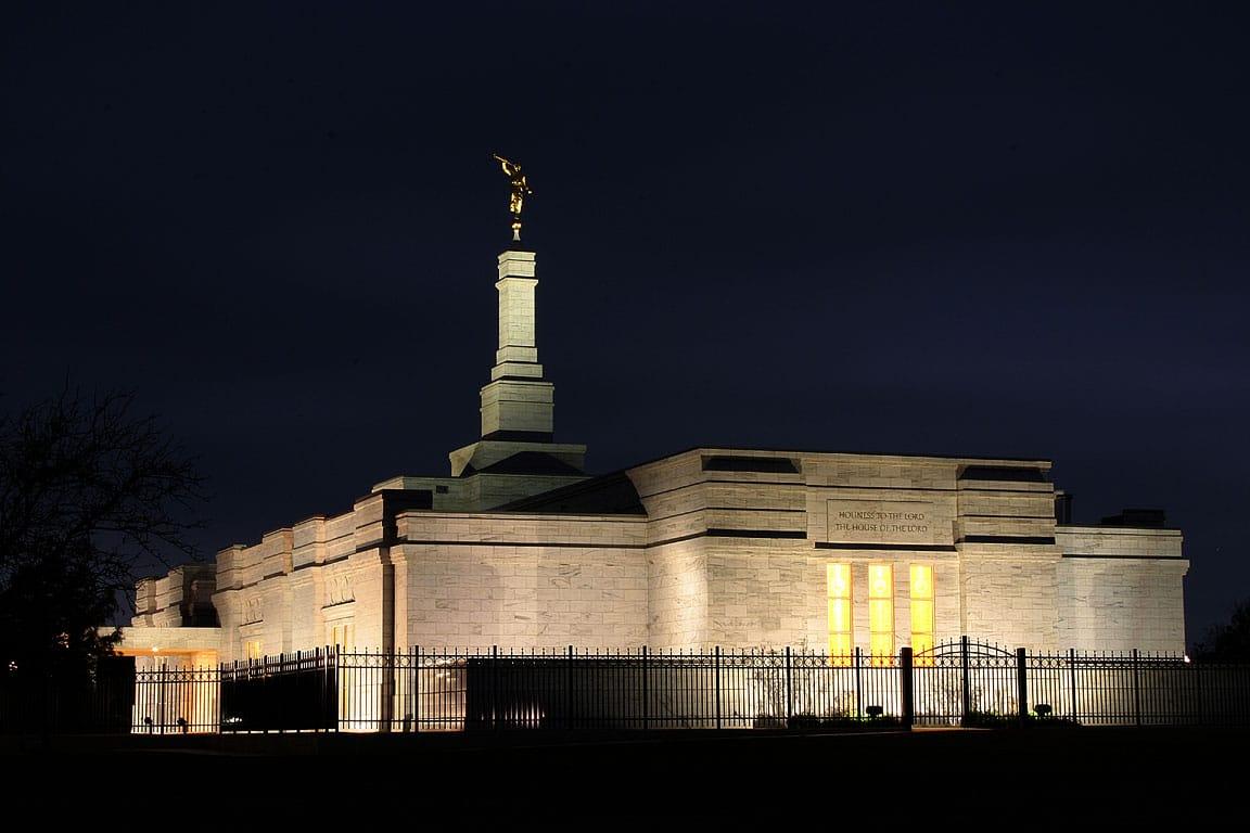Templul Mormon din Oklahoma