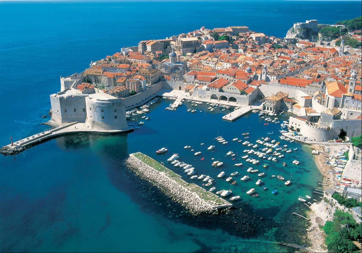Plaja Banje-Dubrovnik - cea mai populară destinație din Croația