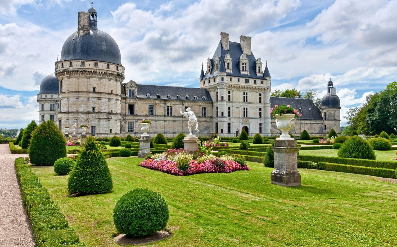 Castelul Valencay și superbele sale grădini
