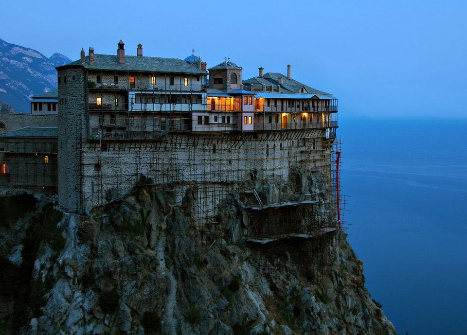 Mănăstire de pe Muntele Athos
