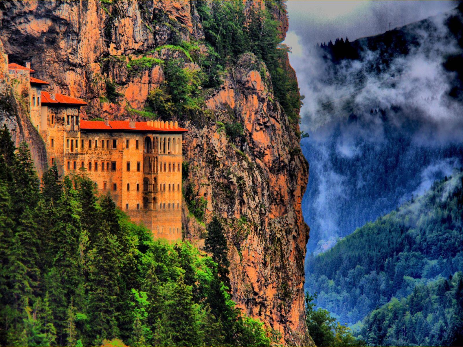 Mănăstirea Sumela, Turcia