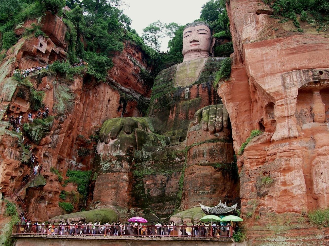 Marele Buddha, Leshan, China