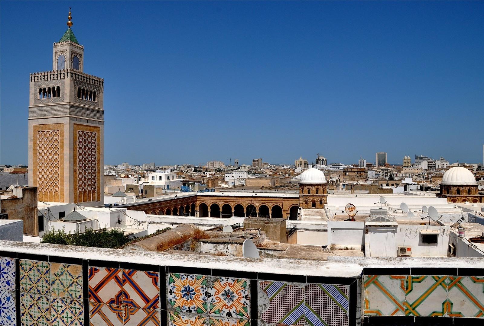 Moscheea Zitouna, emblema orașului