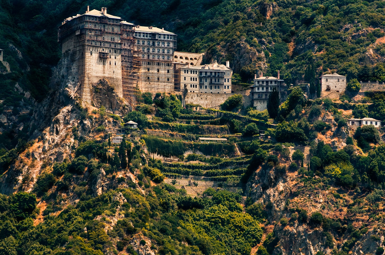 Muntele Athos, Grecia