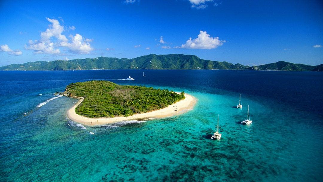 Sandy Cay, insula pustie adorată de întreaga lume!