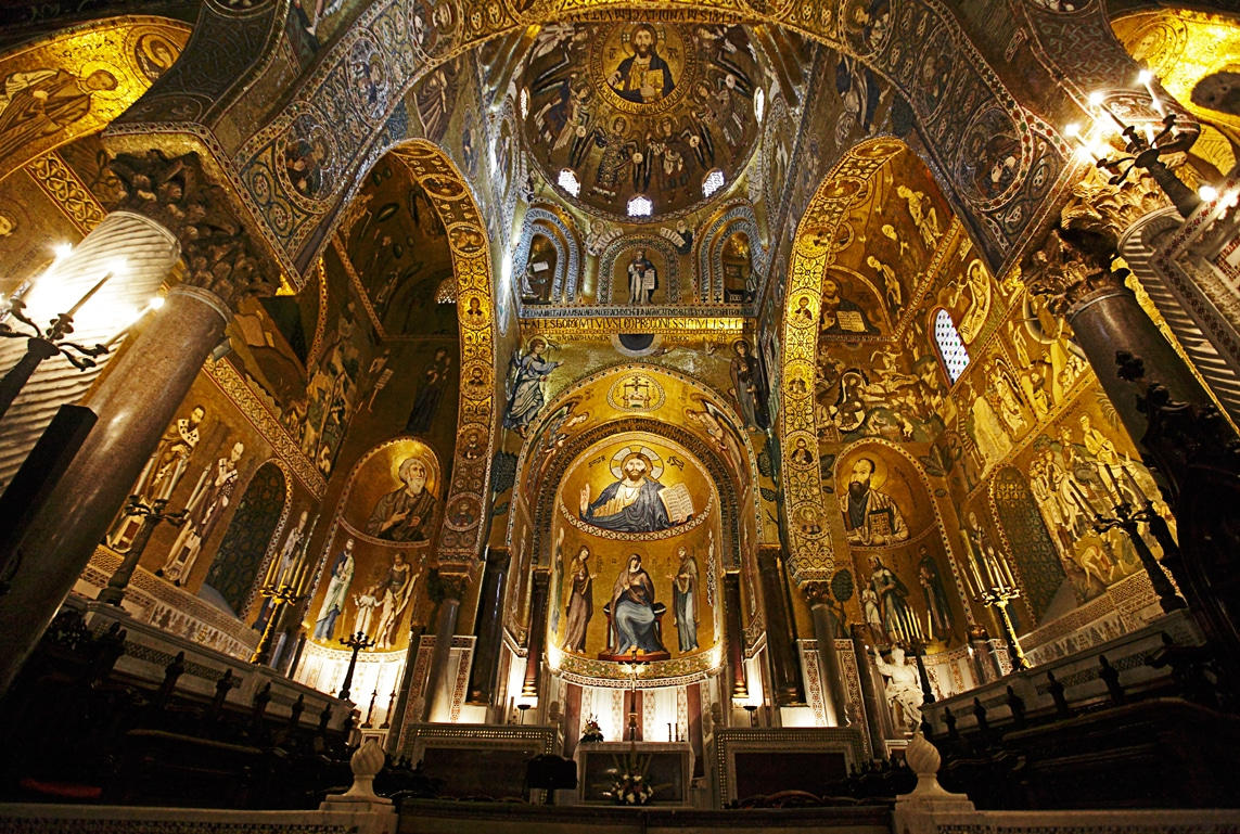 Capella Palatina, interior