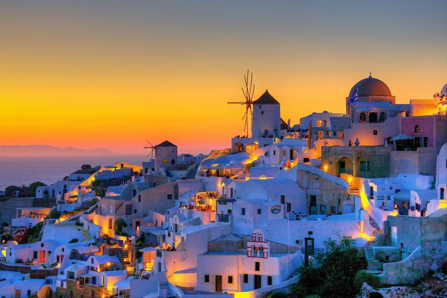 Oia, Grecia