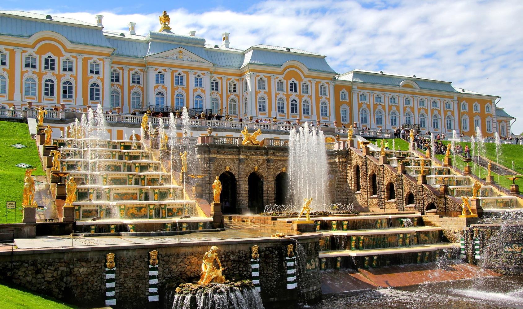 Palatul Peterhof, Rusia