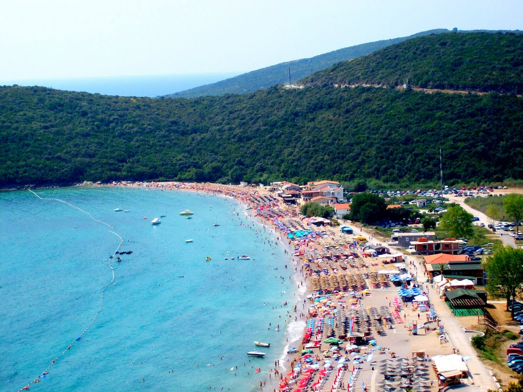 Plaja Jaz, Muntenegru – perla Mării Adriatice