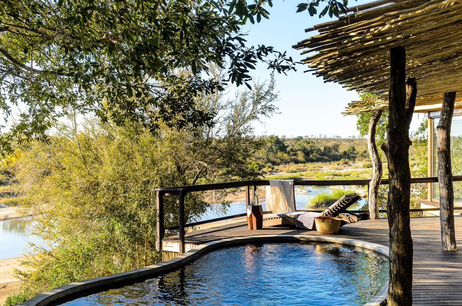 Singita Boulders Lodge - pe malul râului Limpopo
