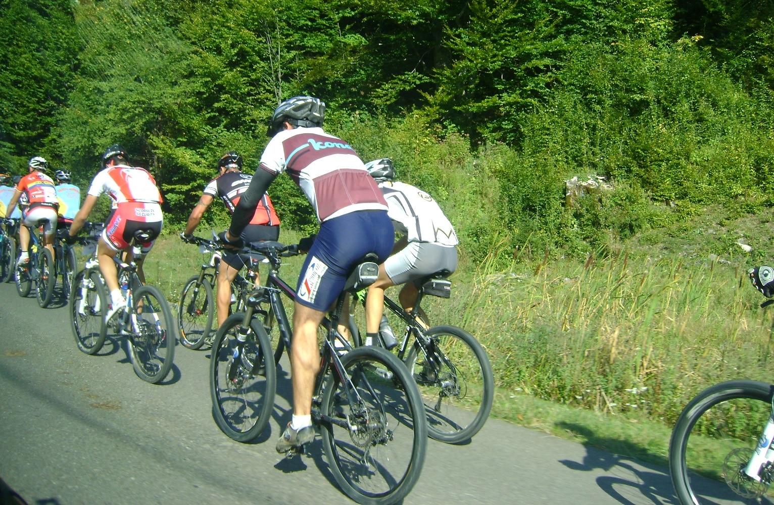 Bistrița – O pistă de biciclete pentru cunoscători