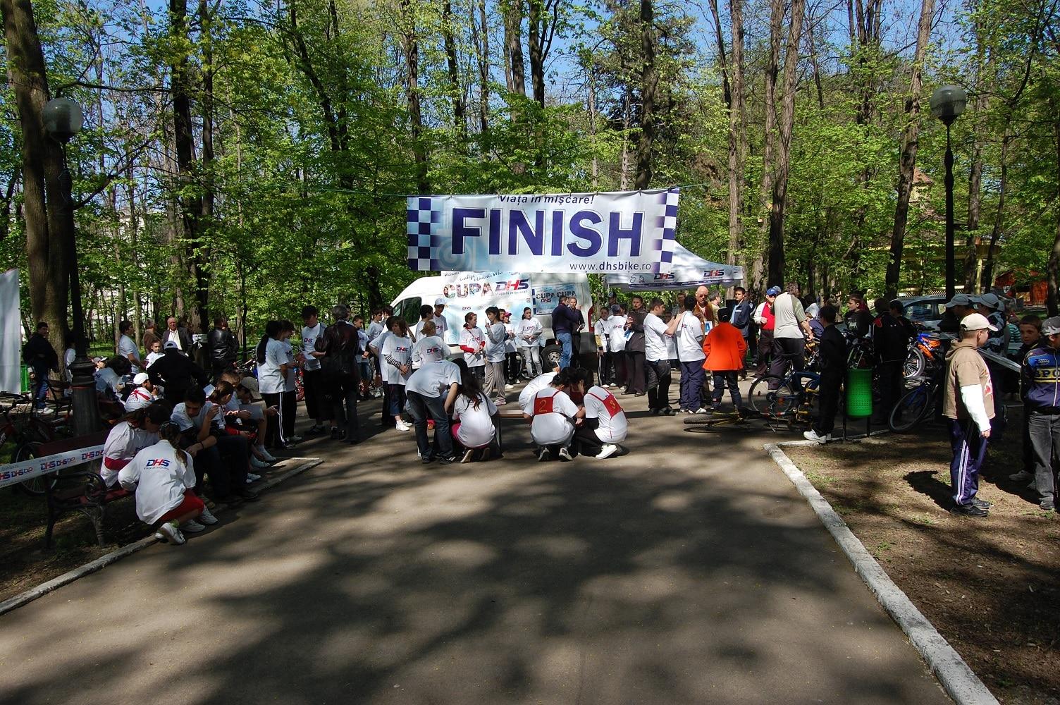 Competiție de ciclism în Botoșani