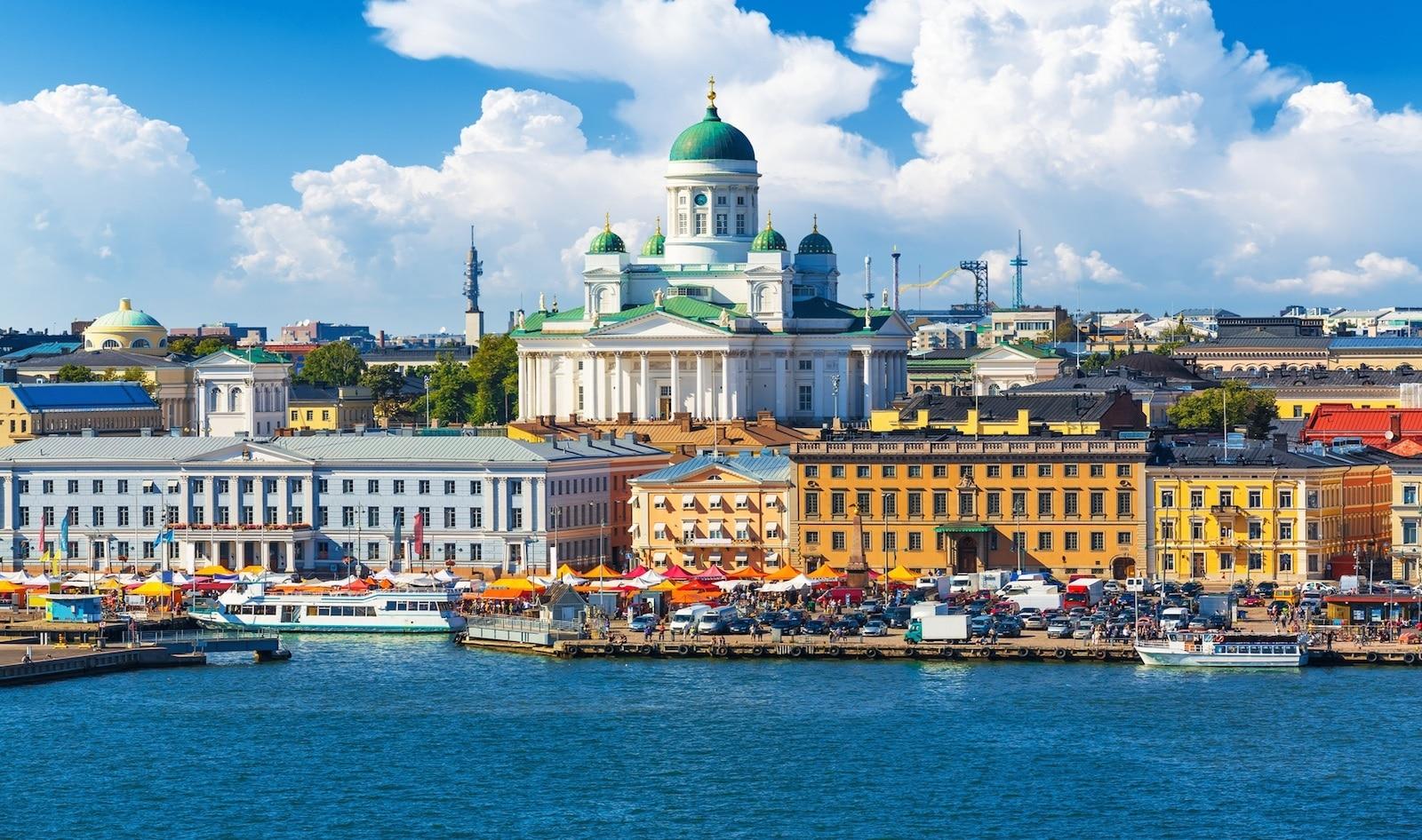 Top 5 cele mai curate orașe din Europa - Helsinki, Finlanda