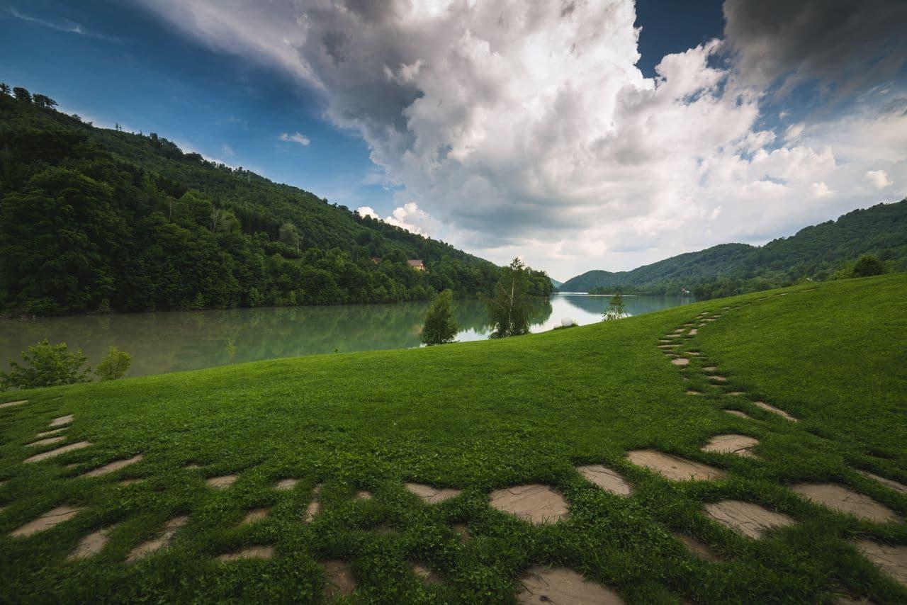Cadru natural de vis la Valea Doftanei