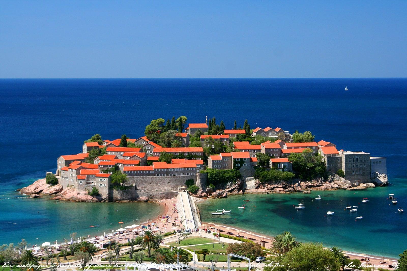 Plaja Sveti Stefan, Muntenegru