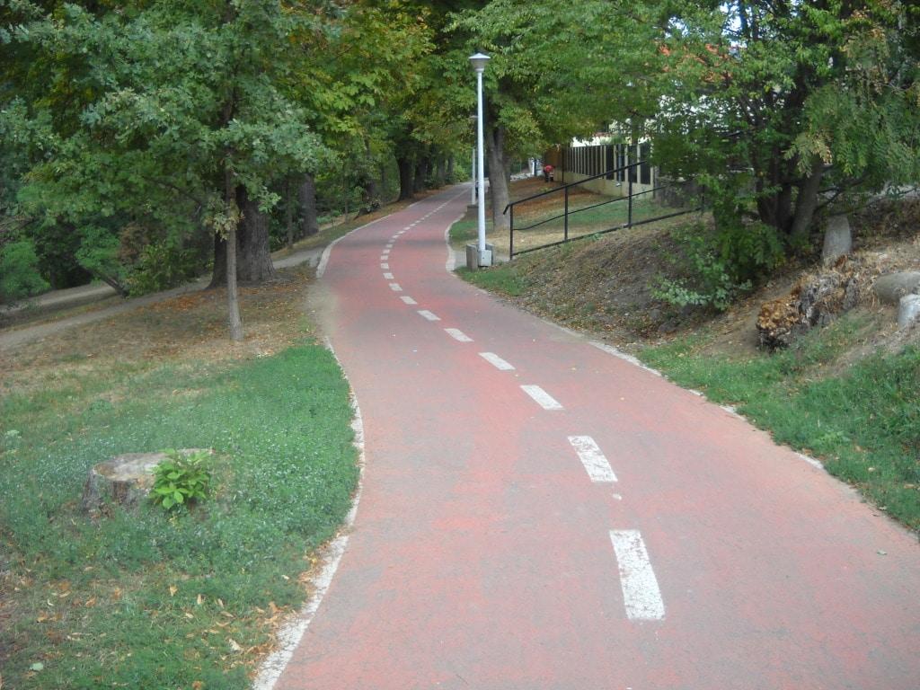 Pistă de biciclete din Sibiu
