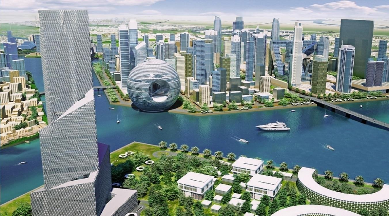Dubai Waterfront - Un exemplu de lux și arhitectură futuristă