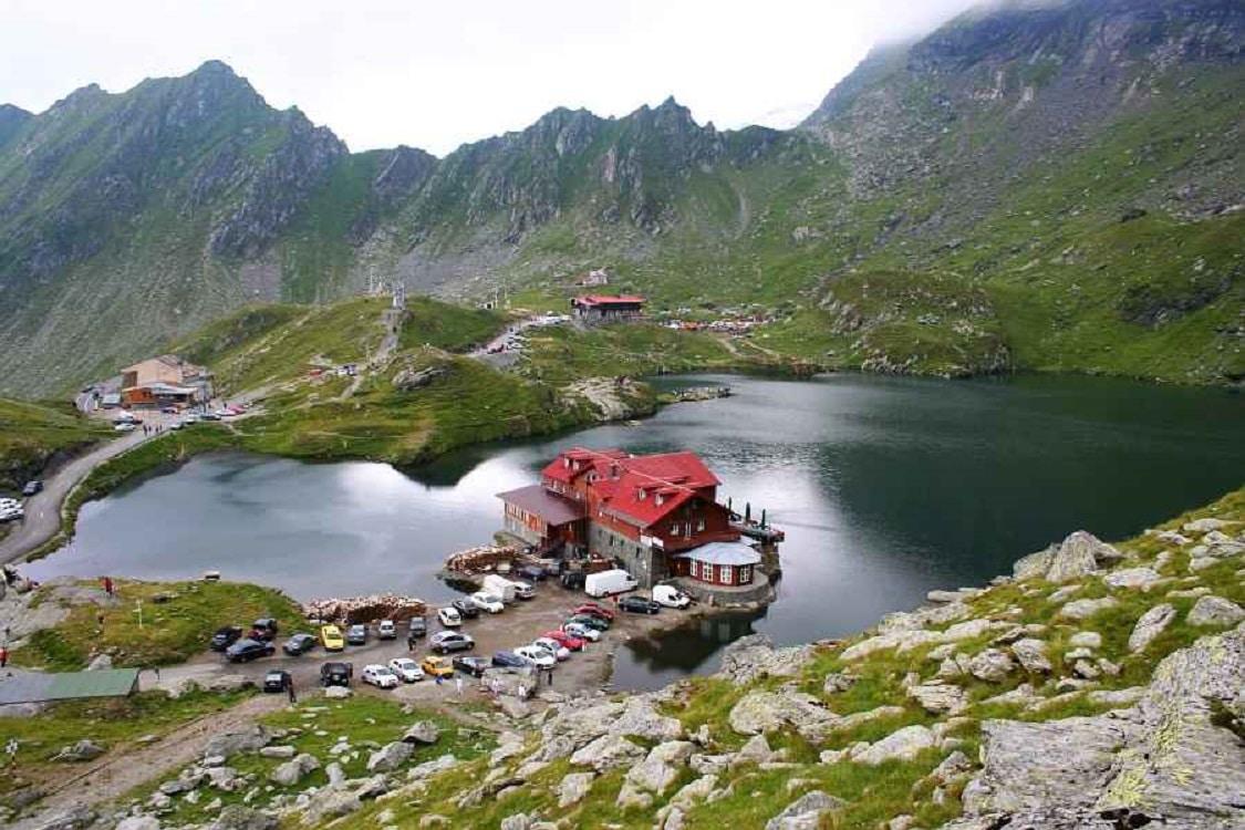 Zona Bâlea Lac  - camping în inima munților