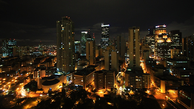 Capitala filipineză, noaptea