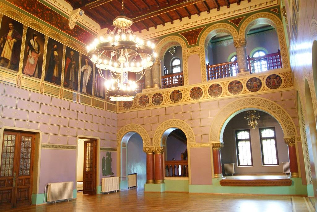 Holul de onoare din Castelul Cantacuzino