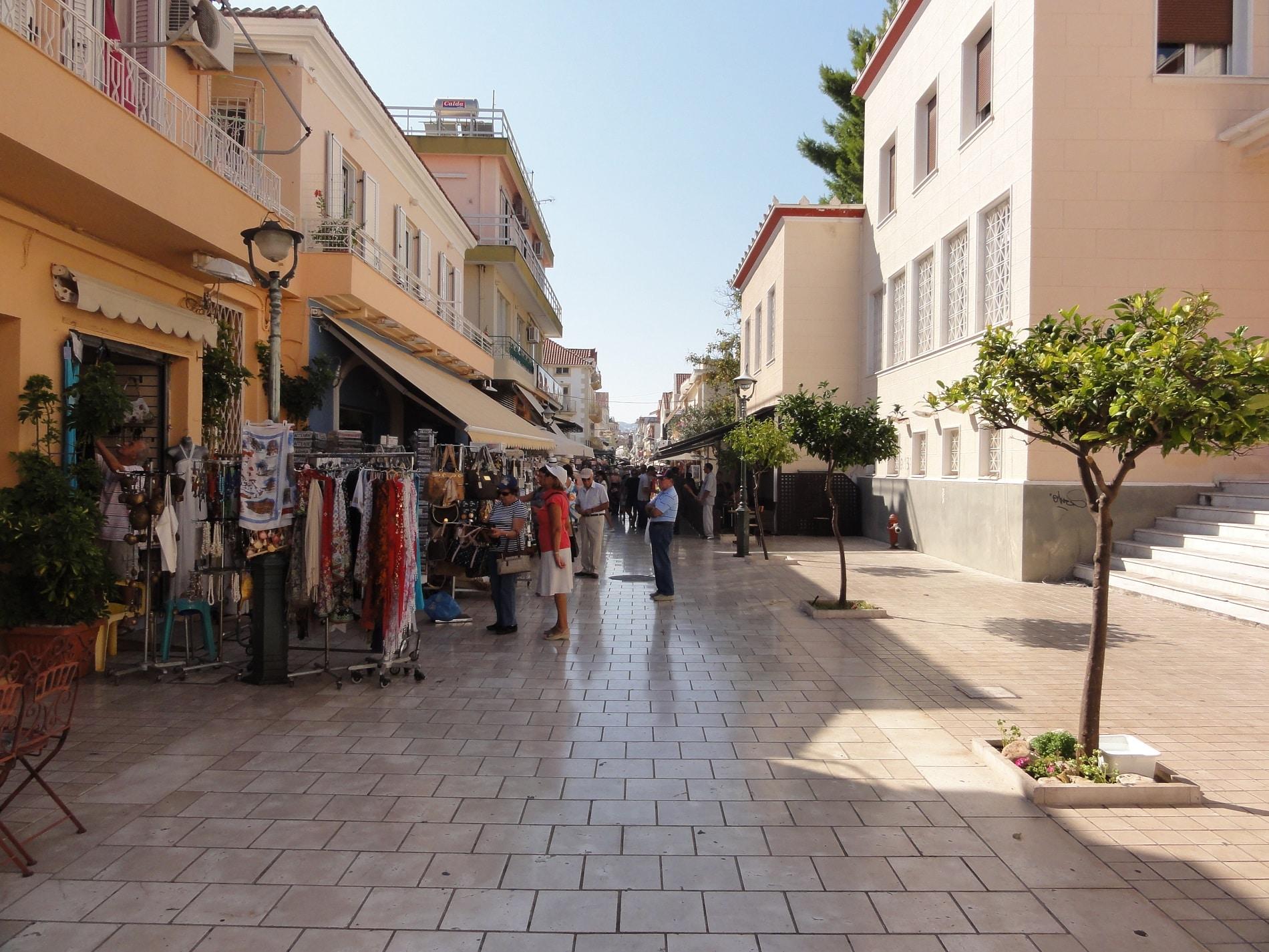 Lithostratos - Cea mai populară stradă comercială din Kefalonia