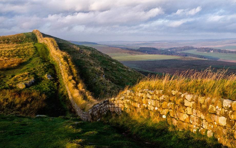 Zidul lui Hadrian, Marea Britanie
