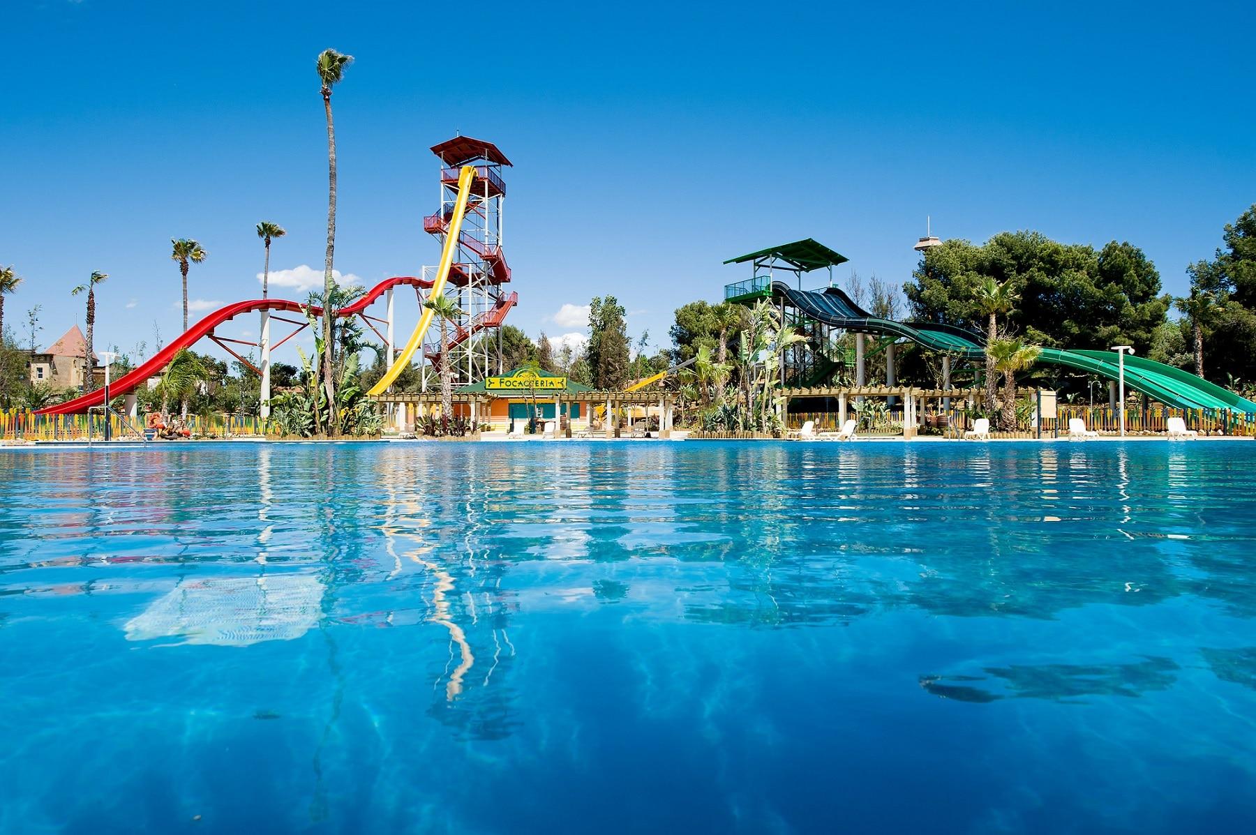 Caraibe Aqua Park din Costa Dorada, Spania