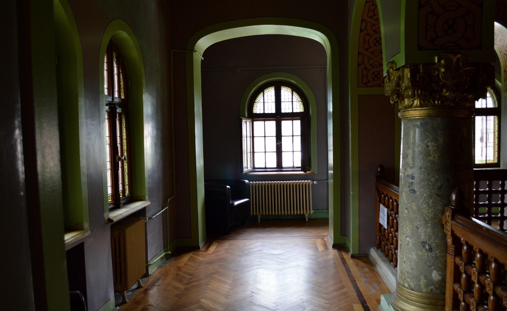 Interioarele Castelului Cantacuzino