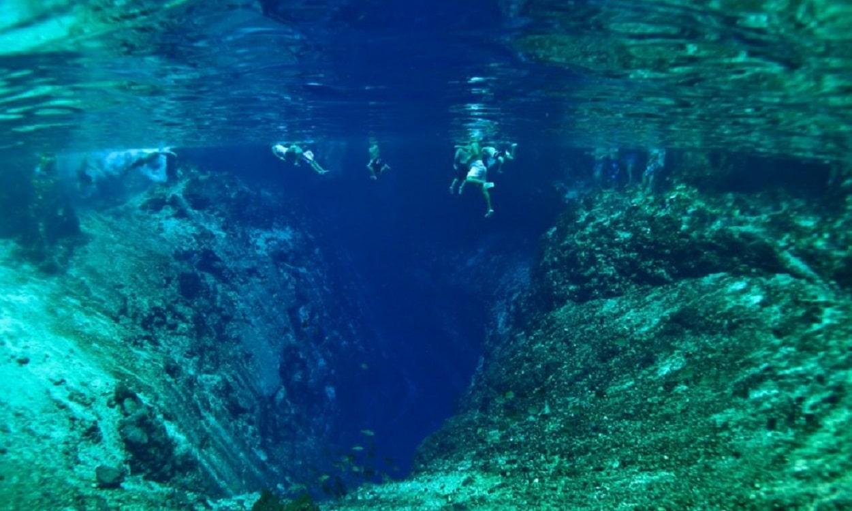 Râul Hinatuan - Imagine subacvatică