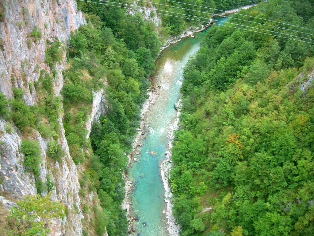 Apa râului, vedere aeriană