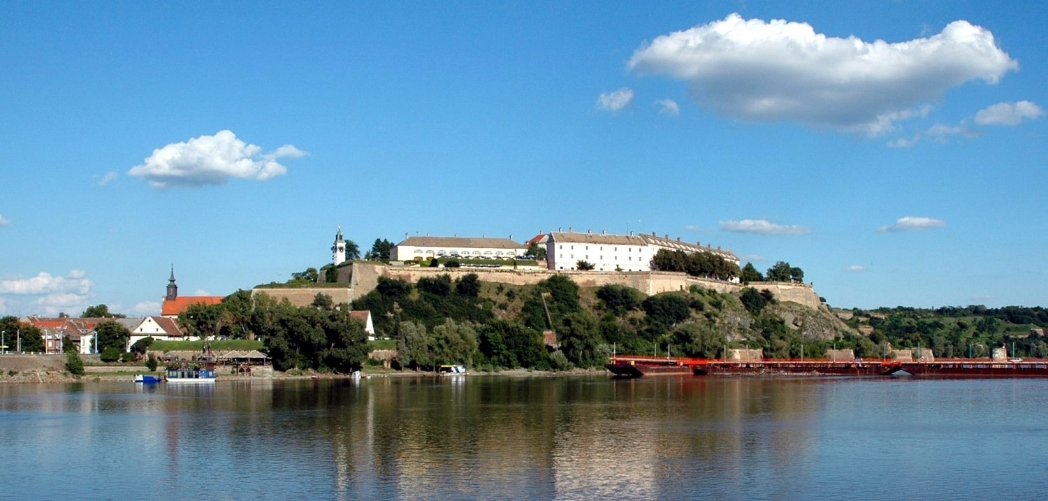 Cetatea Petrovaradin, Serbia - imagine panoramică