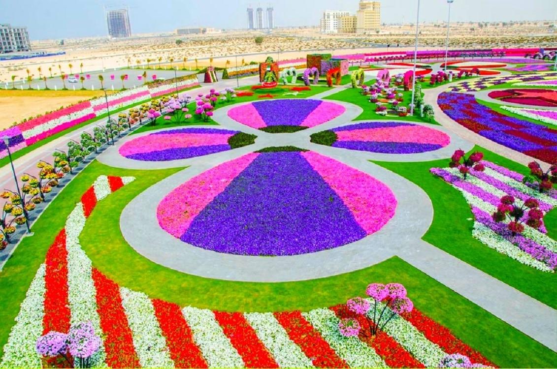 Aranjamente florale în Dubai Miracle Garden