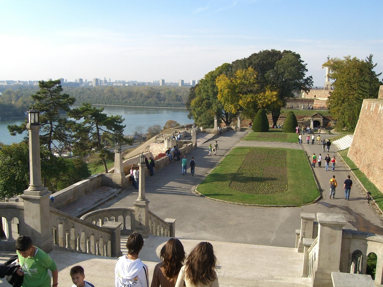 Parcul Kalenegdan din Serbia