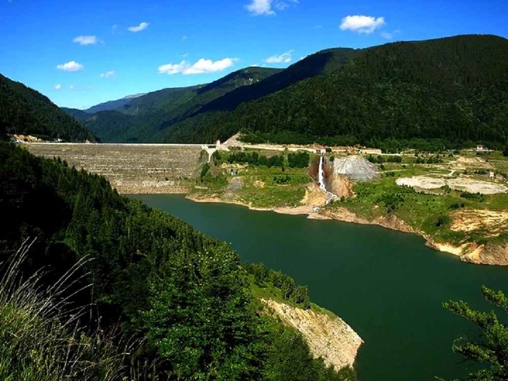 Barajul Gura Apelor - Cel mai mare baraj din Europa