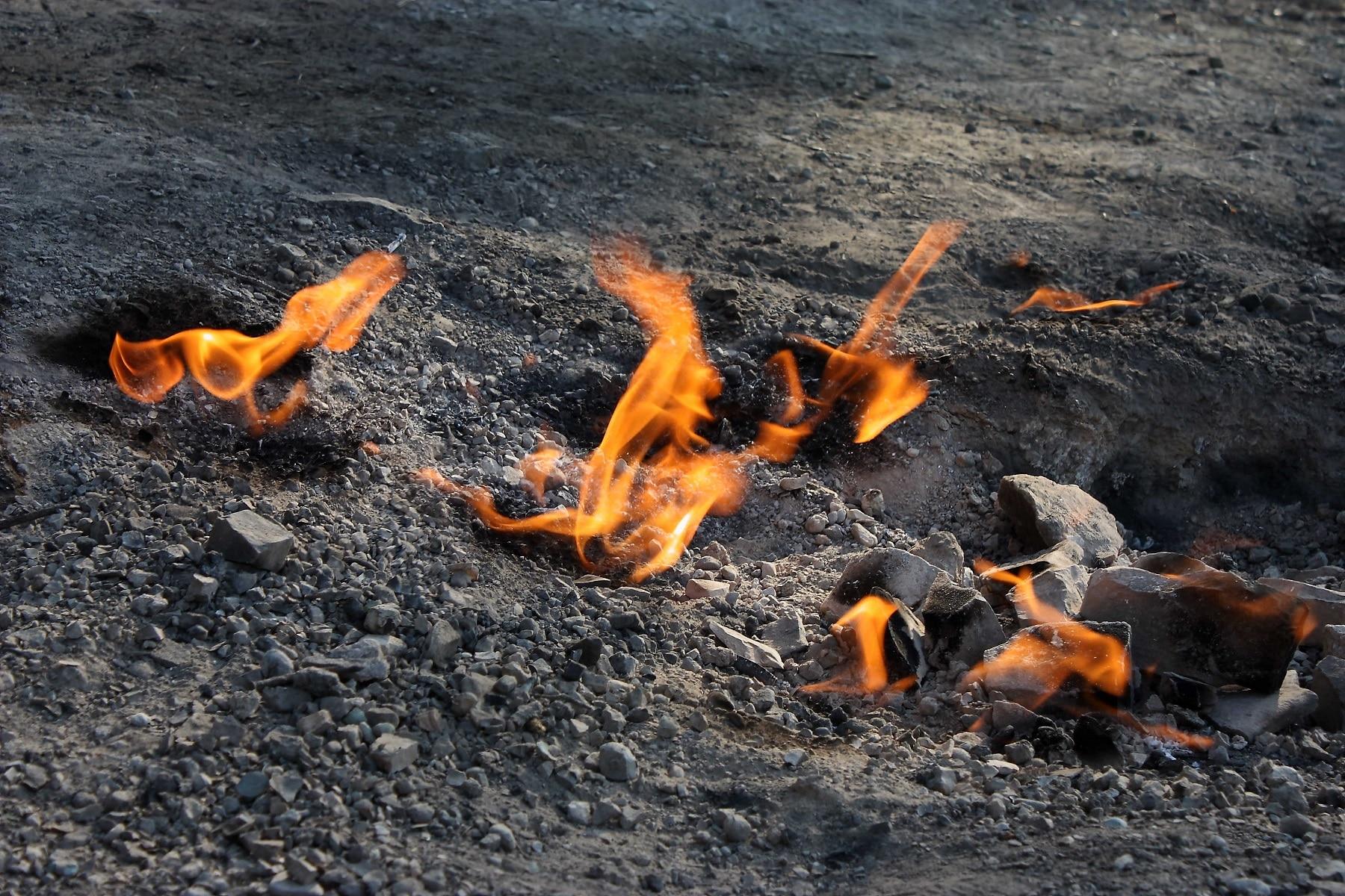 Focurile Vii din Buzău, un loc unic în Europa