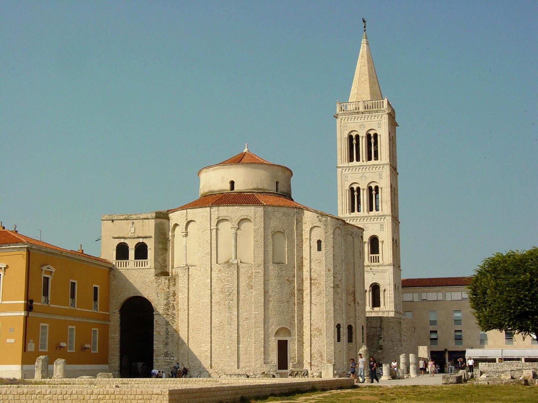 Biserica Sfântul Donat - simbolul orașului Zadar