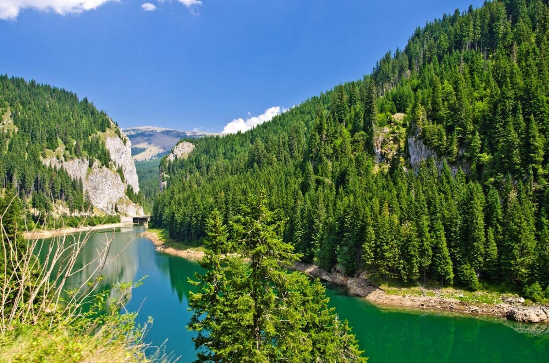 Lacul Bolboci din Munții Bucegi