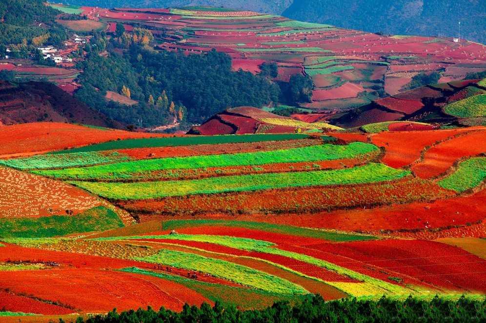 Dongchuan, Pământul Roşu