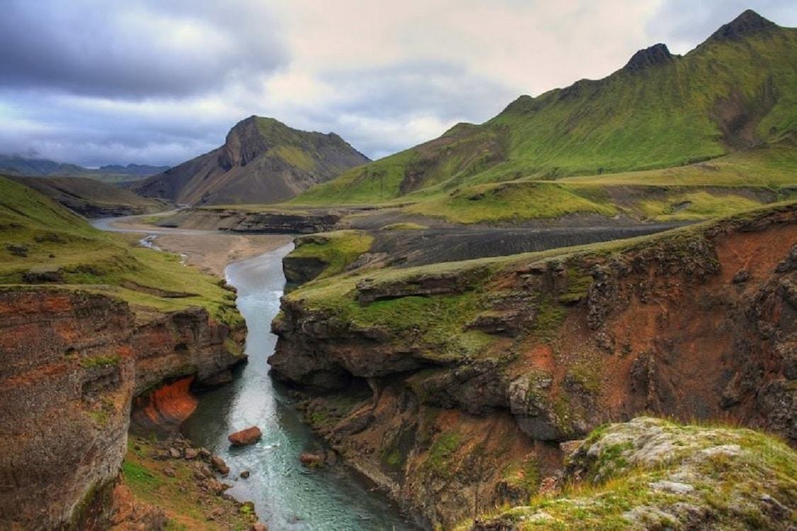 Laugavegurinn - traseul Izvoarelor termale din Islanda