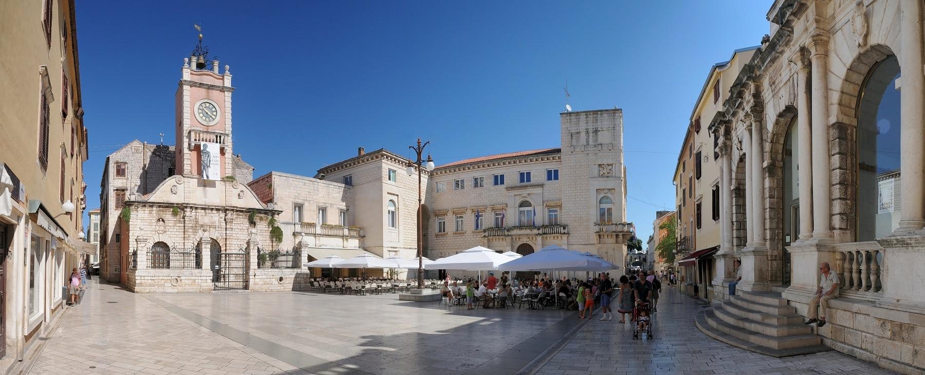 Centrul vechi al orașului Zadar
