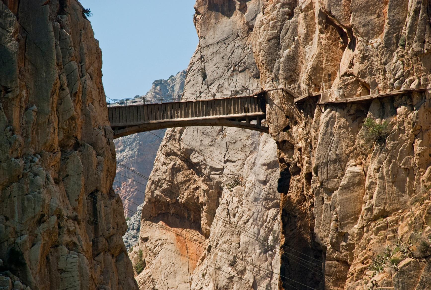 El Camino del Rey și a sa pasarelă celebră