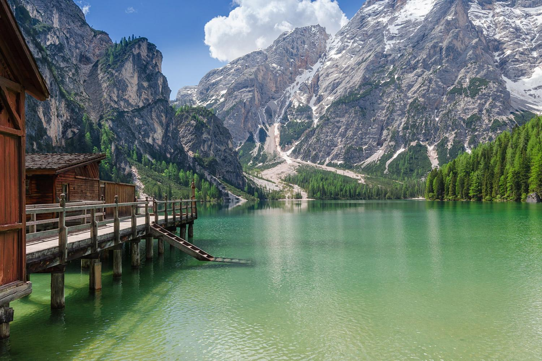Alta Via, Munții Dolomiți