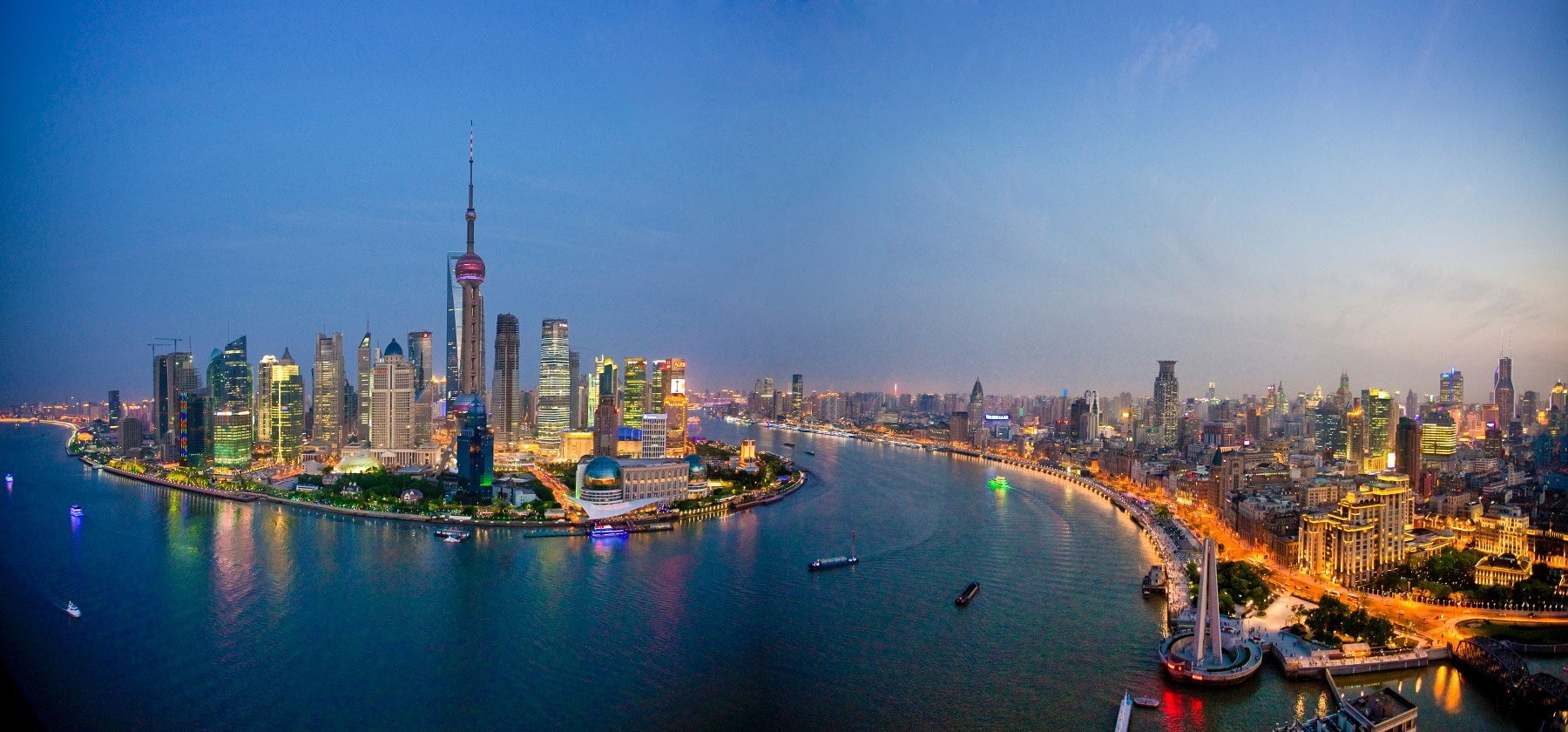 Shanghai - imagine panoramică